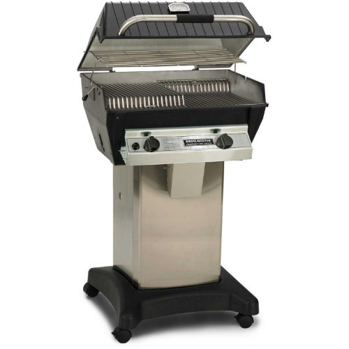 Broilmaster R3 Infrared Propane Gas Grill On Stainless Steel