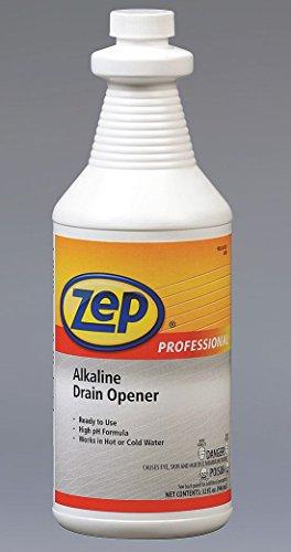 Zep Inc. Alkaline Drain Opener, 1 Qt (AEPR02701) Category: All Purpose Cleaners