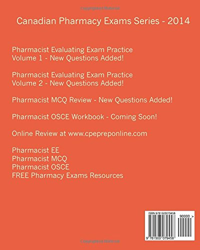 pdf of canadian pharmacy exams pharmacist mcq review