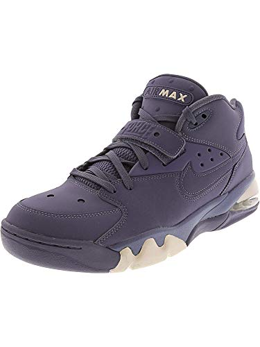 Nike Men's Air Force Max High-Top Leather Basketball Shoe - 10M - Light Carbon/Light Carbon
