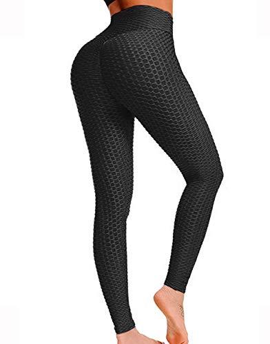 64cda6cc29c5c Women's Butt Lift High Waist Yoga Pants Tummy Control Workout Trousers  Ultra Elastic Sports Stretchy Leggings