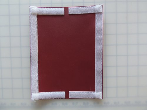 #1m 6.5 X 8.5 =3x8 usable size Fishing Gear & Bait,Tackle & Lure Covers & Pole Wraps (Maroon)