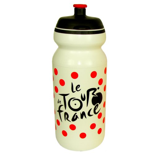 France De Bottle Tour Water (Official Tour de France Cycling Bottle - White)
