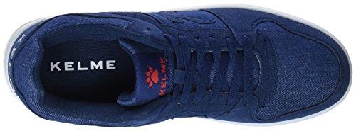 Retrobascket Zapatillas denim Azul Kelme Unisex Jeans 687 Adulto w4xffqZd