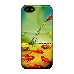 Iphone 5/5s Case Slim [ultra Fit] Fish Out Of Water Protective Case Cover