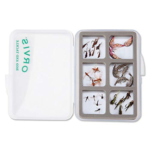 Orvis Super Slim Shirt Fly Box 6 Compart