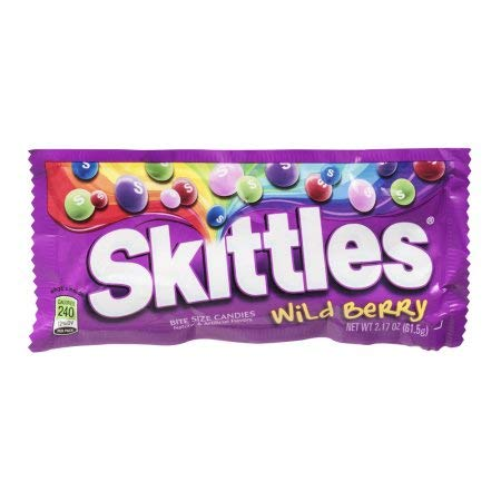 Skittles Bite Size Candies Wild Berry (Pack of 36)