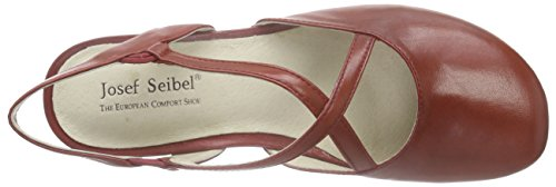 Josef Seibel Fiona 13 - Sandalias de tobillo Mujer Rojo - Rot (rubin)