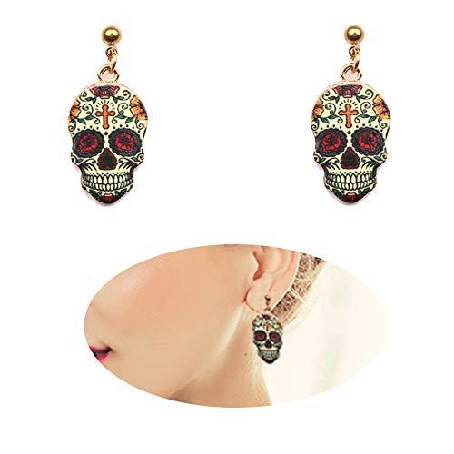 Dangle Drop Pumpkin Cool Earrings Women Halloween Costume Girls Stud Earrings Charms Jewelry Icecream ()