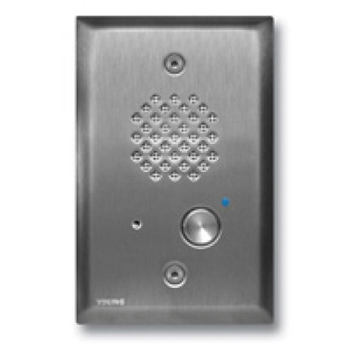 - VIKING ELECTRONICS Compact Entry Phone- Stainless Steel / E-40SS /