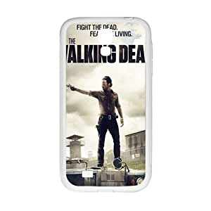 Fight The Dead Fear The Living Pattern Plastic Case For Samsung Galaxy S4 by Maris's Diary