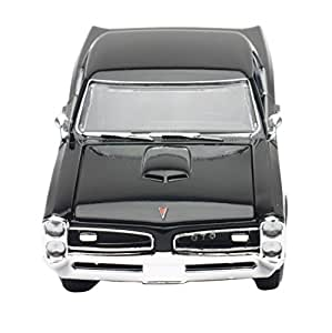 1966 Pontiac GTO Black 1/25 by New Ray 71853 B