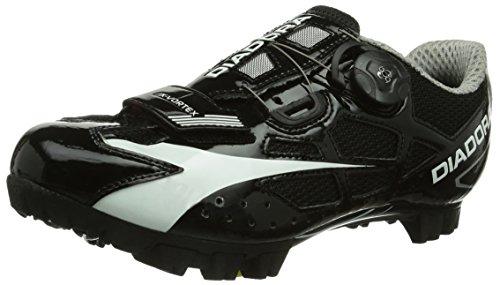 Diadora X- Vortex, Unisex-Erwachsene Radsportschuhe - Mountainbike, Schwarz (schwarz/weiß 6410), 41.5 EU