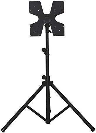 Audio 2000S AST424Y Portable Flat Panel LCD TV Stand with Foldable Tripod Legs