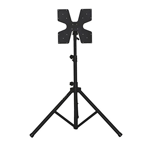 Audio 2000 AST424Y Portable Flat Panel LCD TV Stand with Fol