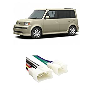 41tWr4uOskL._SY300_ amazon com scion xb 2004 2015 factory stereo to aftermarket radio Boss Radio Wiring Harness at virtualis.co