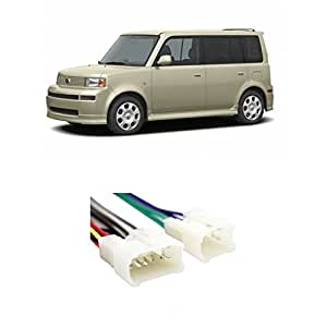 41tWr4uOskL._SY300_QL70_ amazon com scion xb 2004 2015 factory stereo to aftermarket radio wiring diagram scion xb at crackthecode.co