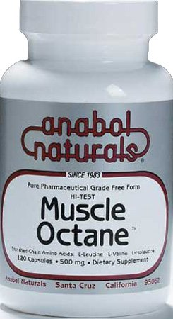 Hi-Test Muscle Octane BCAA's Anabol Naturals 240 Caps For Sale