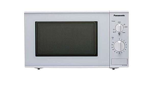 Panasonic NN-K101W Microondas Combinado Encimera 20L 800W Color ...