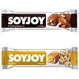 ソイジョイ ナッツ系2種類 各6本ずつ 12本セット ピーナッツ/アーモンドチョコレート