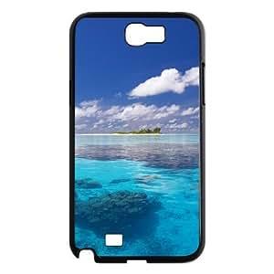 Sea Ocean Phone Case For Samsung Galaxy Note 2 N7100 [Pattern-1]