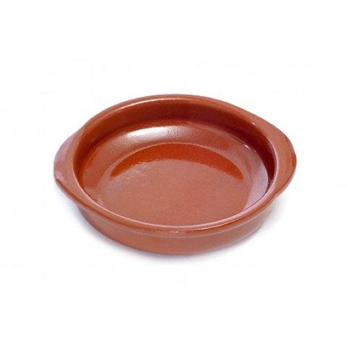 Valdearcos 0128 Spanish Terracotta Tapas Dish/Cazuela - 28 Centimeter Diameter