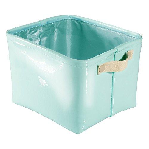 InterDesign Leather Storage Bathroom College product image