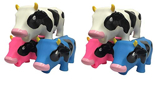 Animolds Squeeze Me and Hear Me Moo Squishy Cow Sensory Toys Party Supplies Pack (6 Pack) by Animolds (Image #7)