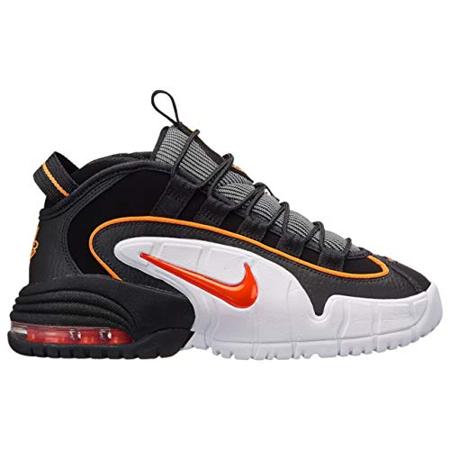 Nike Air Max Penny LE Big Kids Shoes Black/Total Orange/White 315519-006 (4 M US)