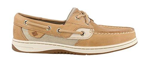 - SPERRY Women's, Bluefish 2 Eye Boat Shoes Metallic MESH Linen 6 M
