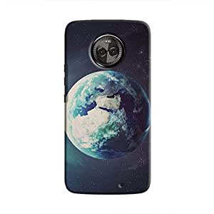 Cover It Up - Blue World Moto X4 Hard Case