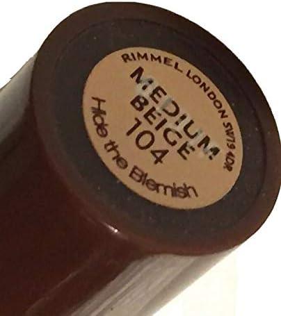 3 Pack) RIMMEL LONDON Hide The Blemish Concealer - Medium Beige: Amazon.es: Belleza