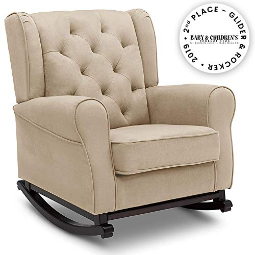 Delta Children Emma Upholstered Rocking Chair