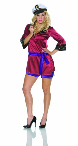 Hef And Bunny Costumes (Playboy Mansion Mistress Costume, Multi, Medium)