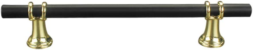 MIBANG Messing-T/ürgriff 128mm Schminktisch minimalistisch T-Form Schrank M/öbelgriff modern Gold Schublade
