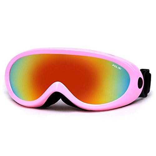 SE7VEN Lunettes De Neige,Générales Anti Brouillard élastique Réglable Pour Enfants Et Adultes Escalade Lunettes De Ski G