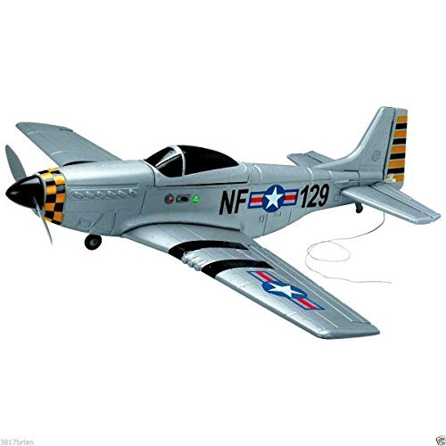 (Ship from USA) 4Ch Radio Remote Control Airplane Mustang P51 Warbird EP RC Airplane RTF by ROSOLO INC (Warbird Rc Plane)