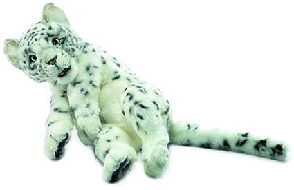 Plush Soft Toy Floppy Snow leopard by Hansa 40cm. 4752 by Hansa