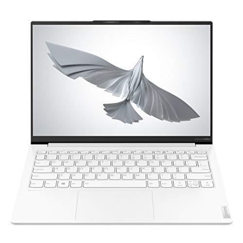 Lenovo Yoga Slim 7 Carbon 11th Gen Intel Core i7 13.3″ QHD IPS Ultra-Light & Thin Laptop (16GB/1TB SSD/Win 10/Office/Intel Iris Xe GFX/HD IR Camera/Moon White/Carbon Fiber Material/0.96 Kg)82EV003WIN
