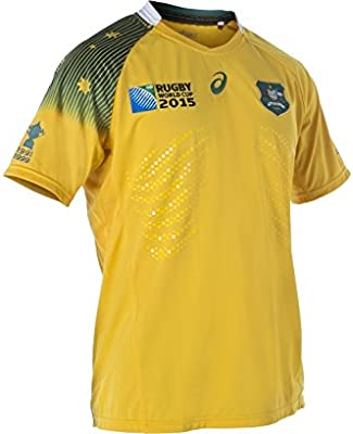 ASICS Australia Wallabies RWC 2015 Test Camiseta Local, XXXL ...