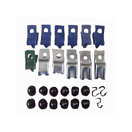 Eckler's Premier Quality Products 33349193 Camaro Fuel Line Clips 3/8 With Return