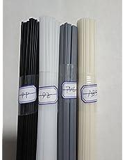 40PCS Plastic Welding rods ABS/PP/PVC/PE Welder rods for Plastic Welder Gun/hot air Gun 1PC=19.5 Inch