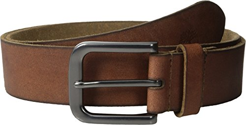 Brown Leather Jeans Belt (Timberland Men's 35Mm Classic Jean Belt, Brown,)