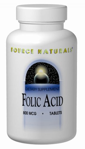 SOURCE NATURALS Folic Tablet Count