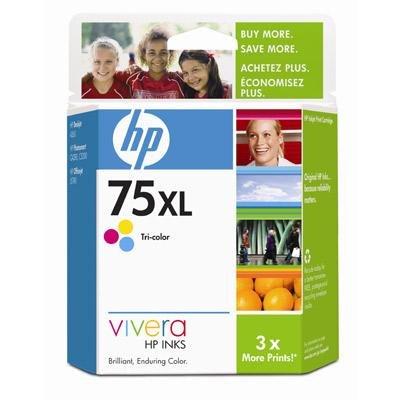 - HP 75XL Tri color Inkjet Cart