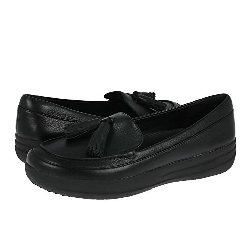 Fitflop F-sporty Tassel Loafer - Mocasines Mujer Negro