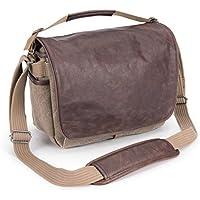 Think Tank Retrospective 7 Medium Shoulder Bag for DSLR Body, Mirrorless System and 10 Tablet, Leather/Sandstone