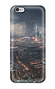Series Skin Case Cover For Iphone 6 Plus(adrift Concept City) Sending Screen Protector in Free