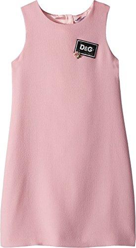 Gabbana Dolce Dress Pink - Dolce & Gabbana Kids Girl's Dress (Big Kids) Pink 10
