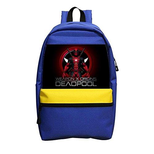 Custom Dead-Pool Children School Bags Back Pack School Kid's Backpacks]()